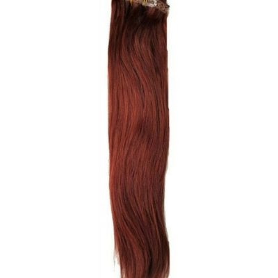 Cherry Red Clip-ins