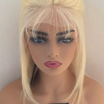 Brazilian Blonde Silky Straight Lace Front Wig